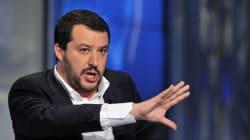 La protesta di Salvini contro il sequestro dei conti: