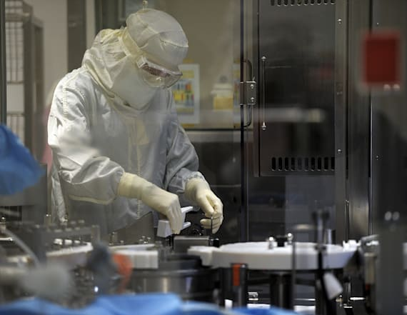 Drugmaker starts early trials of virus treatment