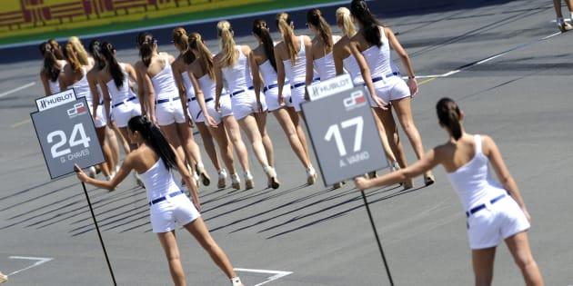 """La Formule 1 met fin à la tradition des """"grid girls"""" sur la ligne de départ"""