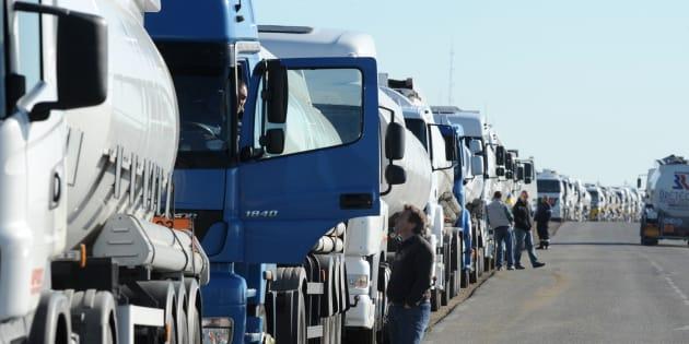 Pourquoi les routiers manifestent ce lundi (Image d'illustration)