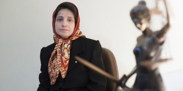 Nasrin Sotoudeh, le voci di condanna e quelle della canea