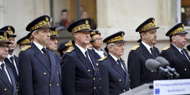 Cérémonie à l'occasion des 15 ans de l'Assassinat du préfet Claude Erignac.