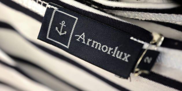 """La marque Armor-Lux, connue pour ses marinières, est un des symboles du """"Made in France"""""""