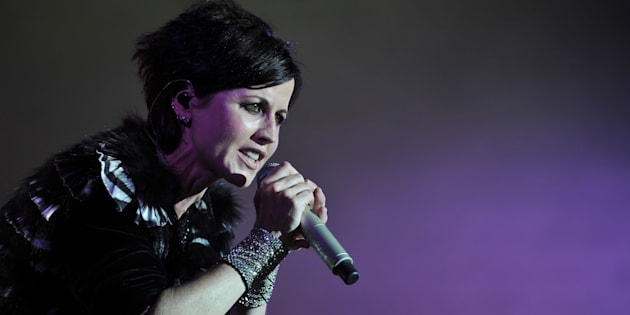 Dolores O'Riordan, du groupe The Cranberries