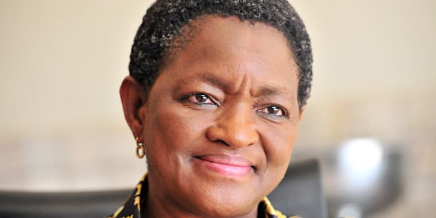 Social Development Minister Bathabile Dlamini during an interview regarding the Sassa crisis and the Constitutional Court outcome on March 18, 2017 in Pretoria, South Africa. During the interview Dlamini said she was shocked to hear that the Constitutional Court could hold her personally liable for legal costs related to the social grants crisis.