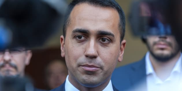 ROME, ITALY - JULY 19:  Luigi Di Maio, Minister of Labour and Economic Development and Vice Premier during a visit to the Citadel of Charity of St Jacinta of Rome and to meet the operators who fight against ludopathyon July 19, 2018 in Rome, Italy. (Photo by Stefano Montesi - Corbis/Getty Images)