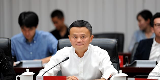 Alibaba co founder Jack Ma in a file photo.