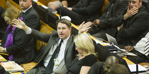 David Maynier, a Member of Parliament with the DA.