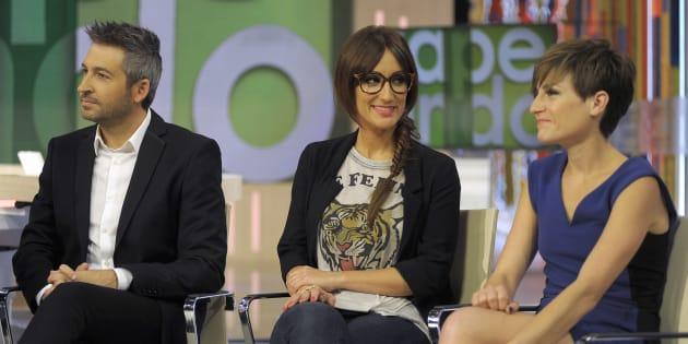Ana Morgade y Frank Blanco.