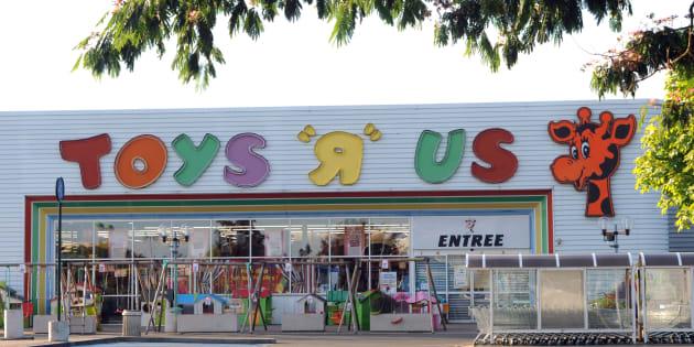 Toys'R'Us à la Chapelle-Saint-Aubin.