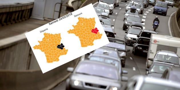 Info trafic: Bison futé voit noir, rouge et orange pour ce week-end de chassé-croisé