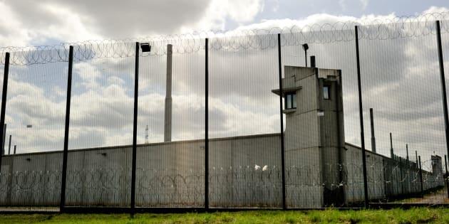 La prison de Sedequin dans le Nord d'où s'était échappé Redoine Faïd en 2013.