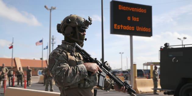 Mucho del equipamiento militar de los agentes fronterizos fue utilizado por las soldados estadounidense en las guerras de Irak y Afganistán.