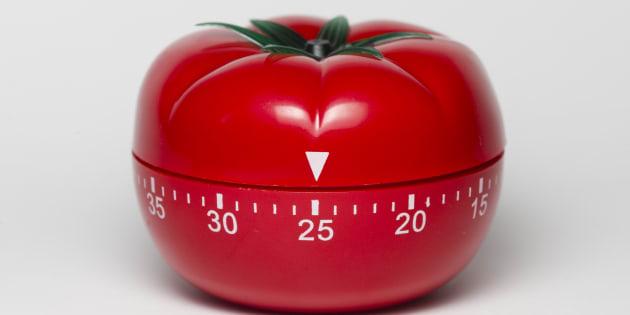 J-1 mois avant le bac de philo, pour ne plus procrastiner et travailler efficacement, la méthode Tomato Timer
