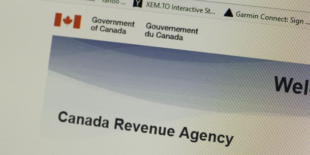 The Canada Revenue Agency web page on Feb. 10, 2019.