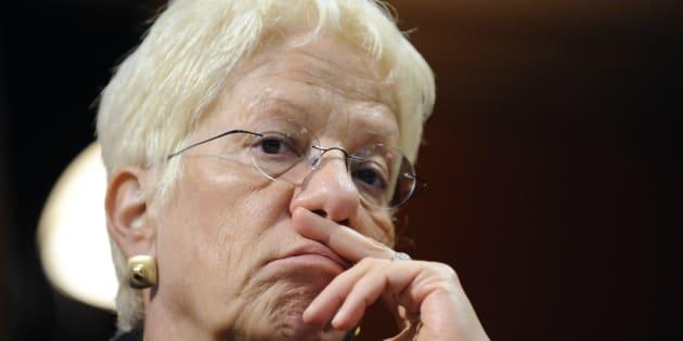 """""""Frustrée"""", Carla Del Ponte va démissionner de la Commission d'enquête de l'ONU sur la Syrie ."""