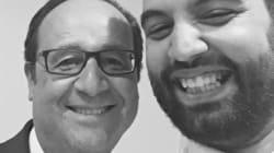 Yassine Belattar devant François Hollande au Bataclan: