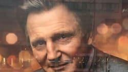 Cette publicité de Liam Neeson à la Berlinale tombe
