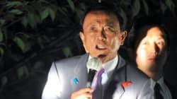 麻生太郎氏「小池さんという人1人に振り回されて」