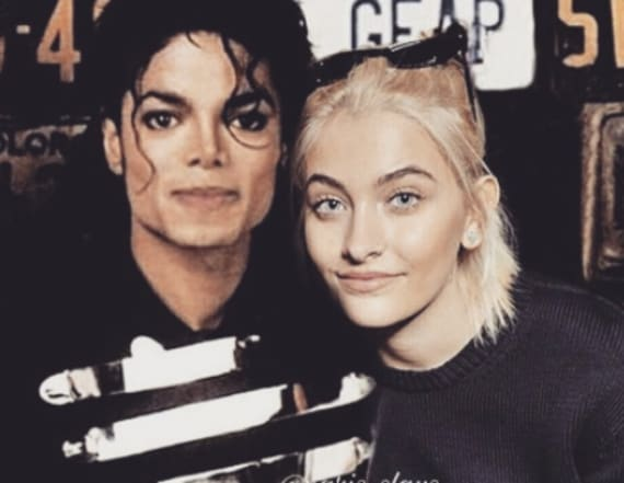 Paris Jackson honors father with eerie photo
