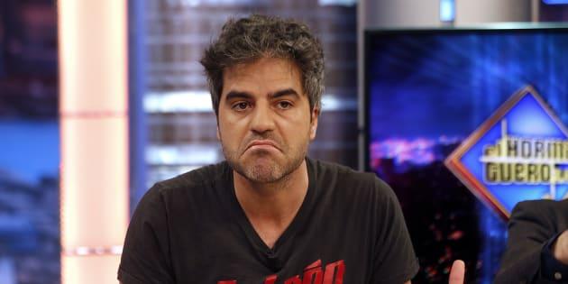 El actor Ernesto Sevilla durante el programa 'El Hormiguero'.