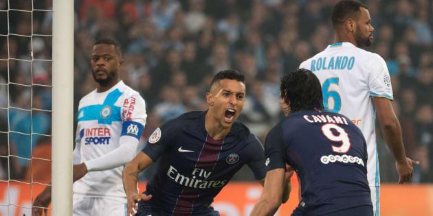 Le PSG humilie Marseille 5 à 1 au Vélodrome