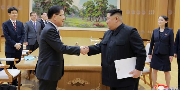 Les deux Corées s'accordent pour tenir un sommet, dans la foulée des Jeux Olympiques d'hiver.