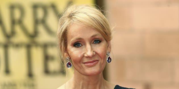J.K. Rowling à Londres le 30 juillet 2016.