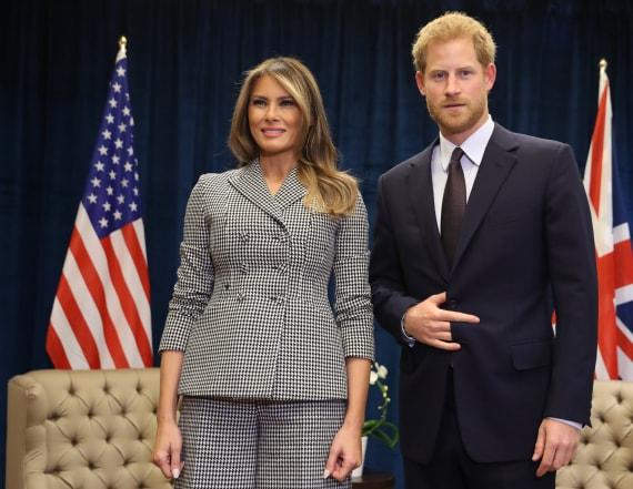Melania Trump dazzles in Dior suit