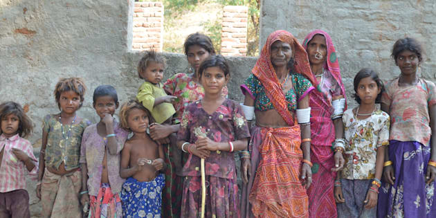 Group of Tribal Women in Ranakpur, Rajasthan