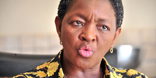 Minister of social development, Bathabile Dlamini.