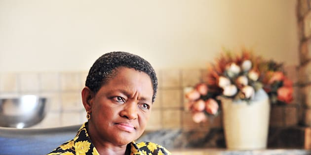 Social Development Minister Bathabile Dlamini.