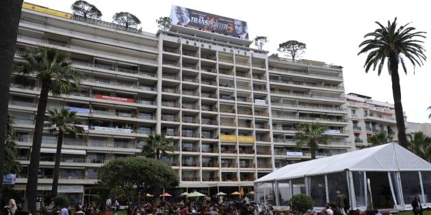La façade du Grand Hôtel de Cannes, photographiée en 2008.
