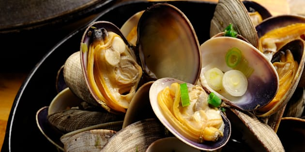 Steamed Manila Clams.