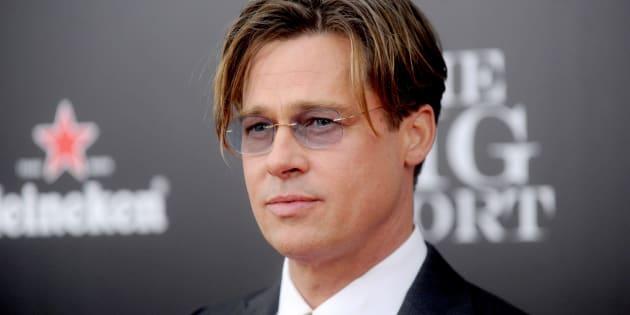 "Brad Pitt attends ""The Big Short"" premiere in 2015."