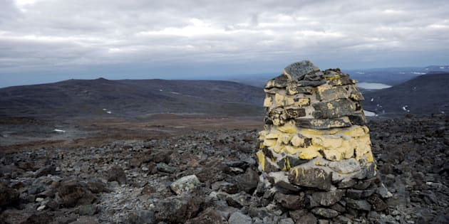 File photo of the Halti mountain on the Finnish and Norwegian borders.