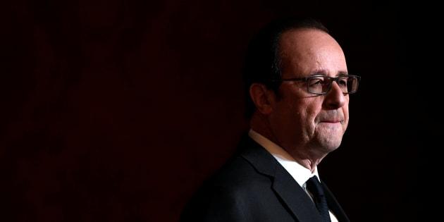 Francois Hollande à l'Elysée, le 1er décembre 2016. REUTERS/Lionel Bonaventure/Pool