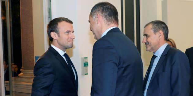 Les Corses (Gilles Simeoni et Jean-Guy Talamoni) sont reçus à Matignon avec un article clé en main pour réformer la Constitution.