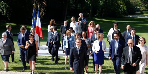 Le gouvernement fait sa rentrée lors d'un séminaire à l'Élysée.