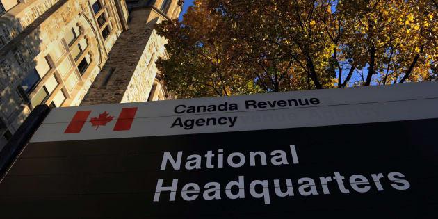 The Canada Revenue Agency headquarters in Ottawa is shown on Nov. 4, 2011.