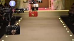 Dolce & Gabbana usó drones en lugar de modelos en