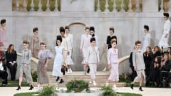 Karl Lagerfeld no se presentó por primera vez a un desfile de