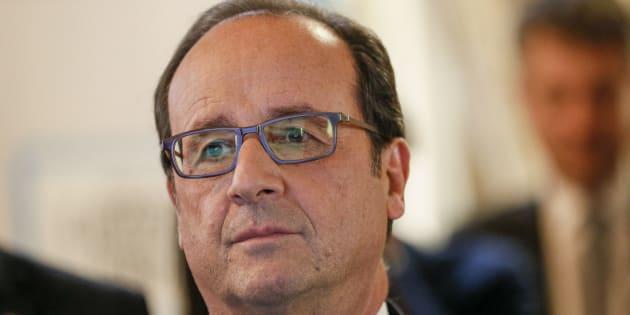 François Hollande à Lyon le 17 novembre 2016.