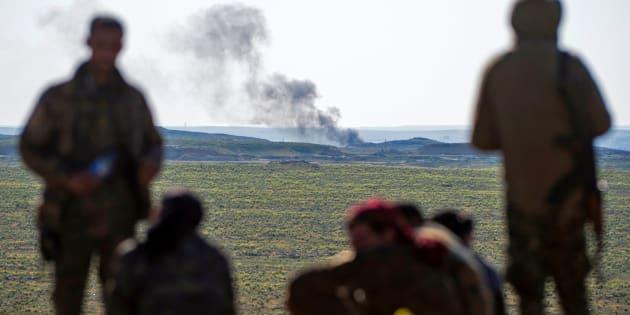 """Les jours sont comptés pour Daech """"assiégé"""" dans un demi-km² en Syrie (photo prétexte)"""
