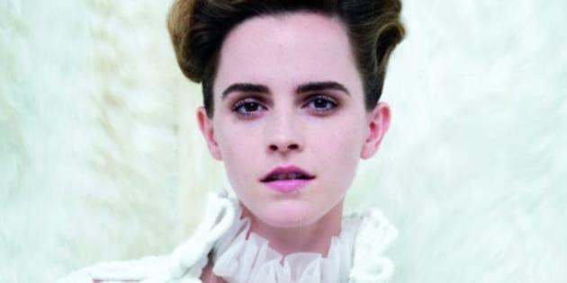 La photo dénudée d'Emma Watson en page 3 du numéro de mars 2017 de Vanity Fair.