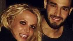 Britney Spears And Model Sam Asghari Sure Look Cozy In New Year's