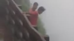 WATCH: Strangers Film Two Men Falling Into 2000-Ft Deep Valley In Amboli
