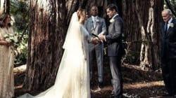 Hilary Swank s'est mariée en pleine nature et dans le plus grand