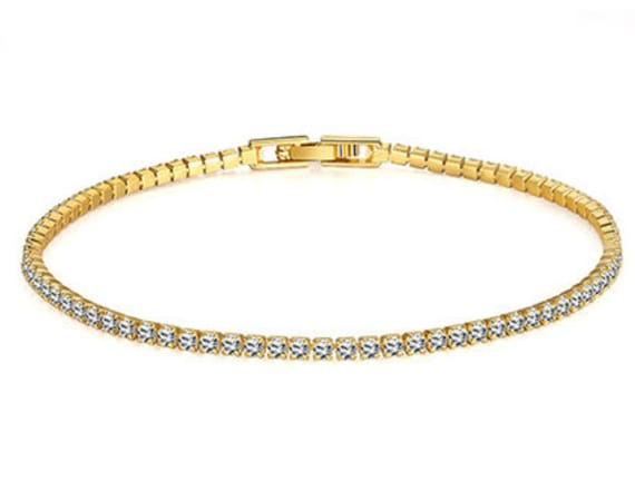 Treat yourself to this Swarovski tennis bracelet
