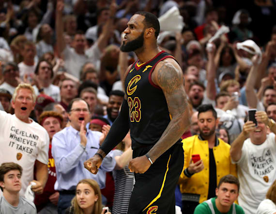 LeBron shines, Cavs bench steps up to force Game 7